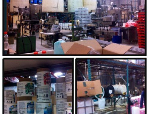 En visite dans une usine de produits écologiques