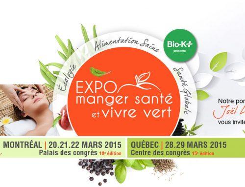 Expo Manger Santé, nous revoilà ! (pssst on fait gagner des billets)