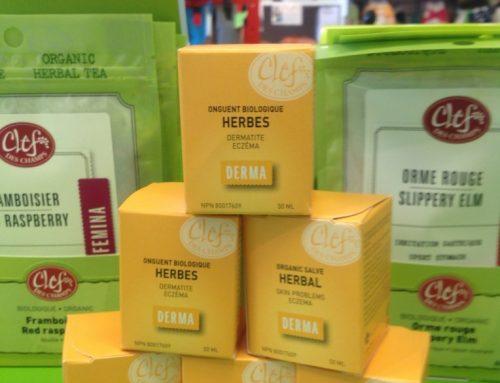 Eczéma… Onguent aux herbes, un produit magique, biologique et fait au Québec !