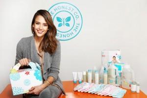 Honest, une marque fondée par Jessica Alba après la naissance de sa première fille