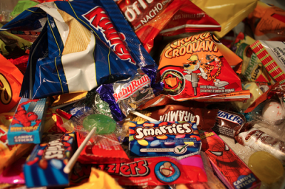 Ne jetez plus vos emballages de bonbons !