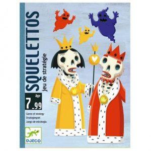 Jeu de carte Squelettos de djeco : saurez-vous vous arrêter à temps ?