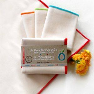 Astuce zéro-déchet : les mouchoirs en tissu lavable