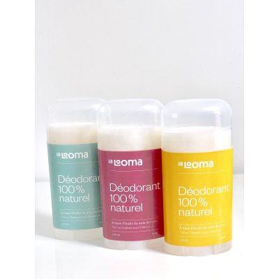 Le meilleur déodorant naturel par La Looma